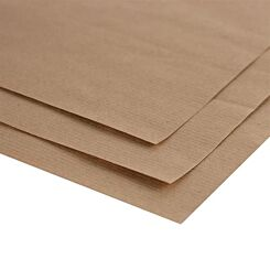 Seawhite A4 Brown Ribbed Kraft Paper Pack of 10 Sheets