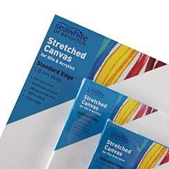 Seawhite Stretched Canvas 1.8cm Standard Edge