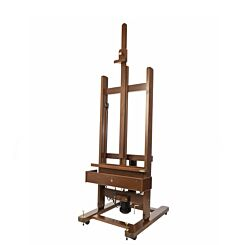 Mabef M01 Dark Electric Studio Easel Front | London Graphic Centre