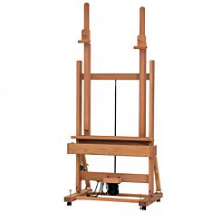 Mabef M02-A Switch Electric Easel Front | London Graphic Centre