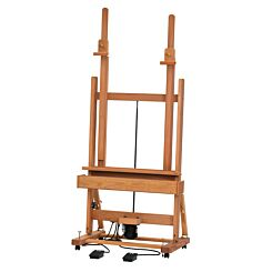 Mabef M02-B Pedal Electric Easel Front | London Graphic Centre