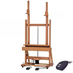 Mabef M02-C Electric Motor Easel Front | London Graphic Centre