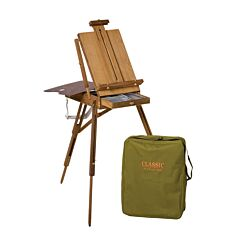 Jullian Full Classic French Easel in Beechwood With Carrying Bag