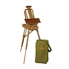 Jullian Half Classic French Easel in Beechwood With Carrying Bag