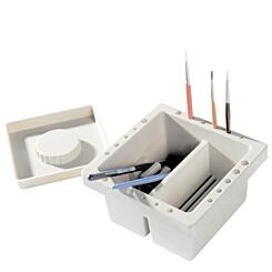 Daler-Rowney Washable Plastic Brush and Palette Tub In Use | London Graphic Centre