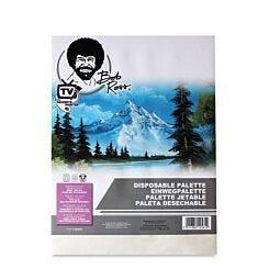 """Bob Ross Disposable Palette Pad 12"""" x 16"""""""