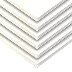 Seawhite Box of White Foamboard A4 5mm - 20 Sheets | London Graphic Centre
