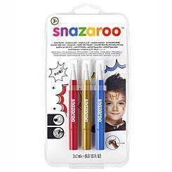 Snazaroo Brush Pen Adventure Face Paint Set