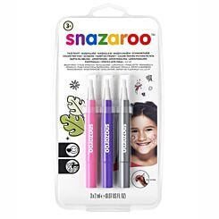 Snazaroo Brush Pen Fantasy Face Paint Set