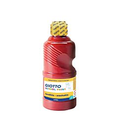 Giotto School Paint Scarlet Red in 250ml