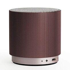 Lexon FINE Bluetooth Speaker Burgundy