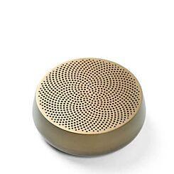Lexon Mino Bluetooth Wireless Travel Companion Speaker Gold
