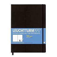 Leuchtturm1917 Sketchbook Master Hardcover A4 Black Front