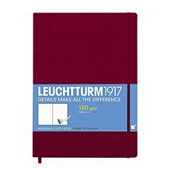 Leuchtturm1917 Sketchbook Master Hardcover A4 Port Red Front