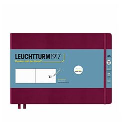 Leuchtturm1917 Landscape Sketchbook Medium Port Red A5 Front