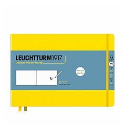 Leuchtturm1917 Landscape Sketchbook Medium Lemon A5 Front