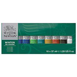 Winsor and Newton Winton Oil Colour Tube Set of 10 x 37ml | London Graphic Centre