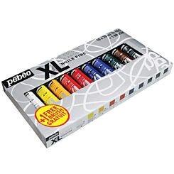 Pebeo Studio XL Artists Oil Paint 10 x 20ml Tube Set | London Graphic Centre