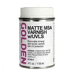 Golden 119ml MSA Varnish Matte Front