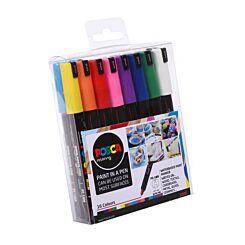 Uni Posca Paint Marker PC-1MR Set Pack of 16