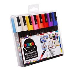 Uni Posca Paint Marker PC-5M Set Pack of 16