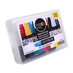 Uni Posca Paint Marker PC-17K Collection Box