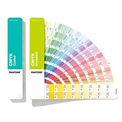 Pantone CMYK Solid Guide Coated & Uncoated Front | London Graphic Centre