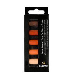 Rembrandt Soft Pastels Half Stick Set of 5 - Burnt Sienna