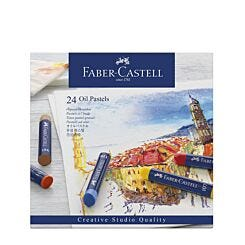 Faber-Castell Oil Pastels Creative Studio Box of 24 Front