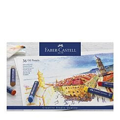 Faber-Castell Oil Pastels Creative Studio Box of 36 Front
