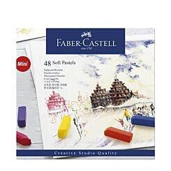 Faber-Castell Soft Pastels Creative Studio Half Stick Box of 48 Front