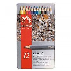 Caran d'Ache Pablo Pencil Tin of 12