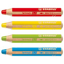 Stabilo Woody Colour Pencil Group | London Graphic Centre