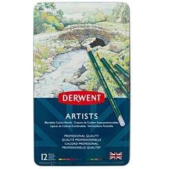 Derwent Artists Pencils Tin of 12