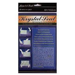 Seawhite A5+ Krystal Seal Sleeves Pack of 25 Front