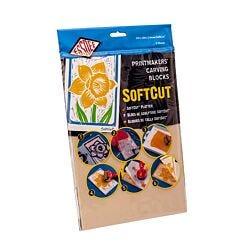Essdee Softcut Lino Printing Block Double Pack