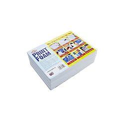 Essdee A5 Print Foam 10mm Pack 5
