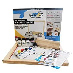 Daler-Rowney System 3 Screen Printing Water Based Set Full Contents