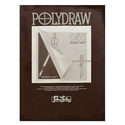 West Design Polydraw Drafting Film Pad A2 Front   London Graphic Centre