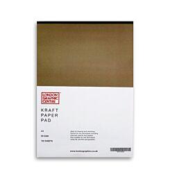 London Graphic Centre Kraft Paper A3 Pad 90gsm Front