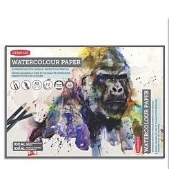 Derwent Watercolour Paper Pad 300gsm A3