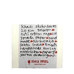Khadi Papers Block Book Sketchbook Rough 210gsm 21cm x 25cm BB4WR Front