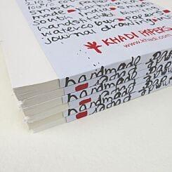 Khadi Papers Block Book Sketchbook Smooth 30cm x 35cm BB3WS Edges