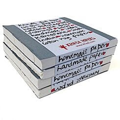 Khadi Papers Fat Book Sketchbook 21cm x 21cm FB1W