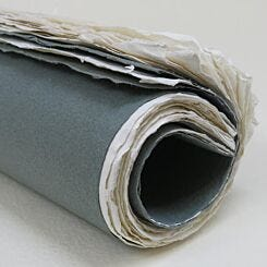 Khadi Papers Paperback Roll Up Sketchbook Smooth 30cm x 42cm RB3W Left