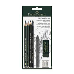 Faber-Castell Pitt Graphite Blister Set of 7