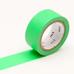 MT Washi Masking Tape Fluorescent Green