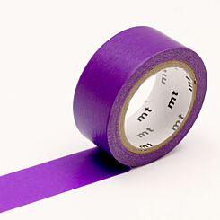 MT Washi Masking Tape Fluorescent Purple