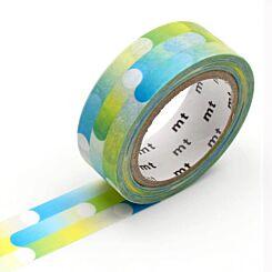 MT Washi Masking Tape Motion Blue