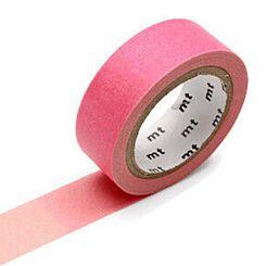 MT Washi Masking Tape Fluorescent Gradation Pink X Green
